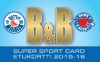 B&B SUPER SPORT CARD